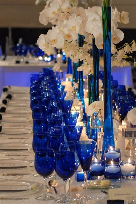 Royal Blue Decorations by 17 Best Ideas About Blue Wedding Decorations On