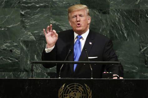 donald trump un speech state department spokesperson heather nauert president