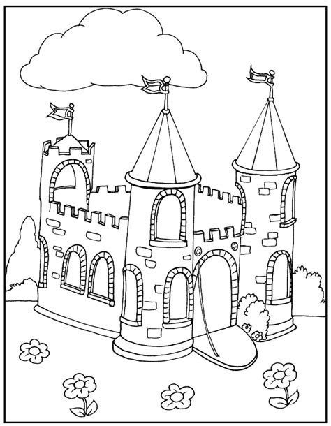 castles disney castles and coloring pages on pinterest castle coloring pages camolot pinterest castles