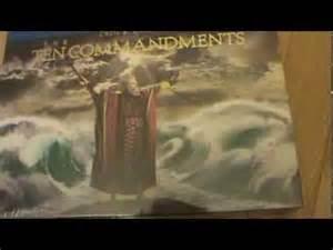 The Ten Commandments Gift Set unboxing abriendo the ten commandments gift set