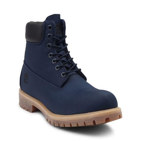 timberland boots mens timberland 6 classic boot blue 531616