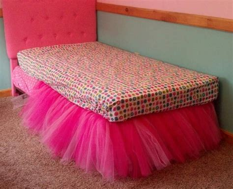 Diy Adorable Bed Skirt Tutu by Half Completed Tutu Bed Skirt I Would Never The Time