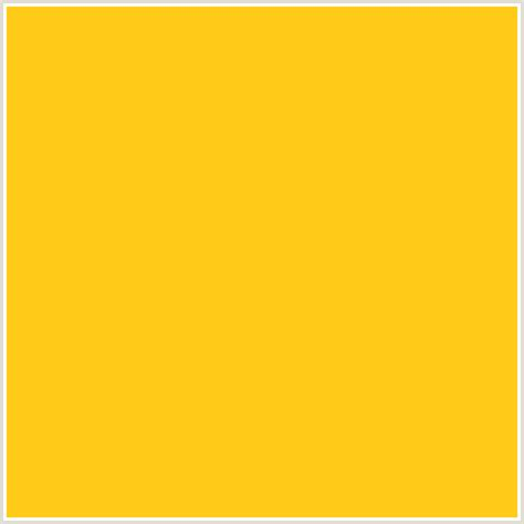 hex color yellow ffcb18 hex color rgb 255 203 24 lightning yellow