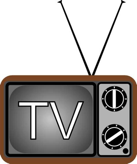 tv clipart television antenna clip at clker vector clip