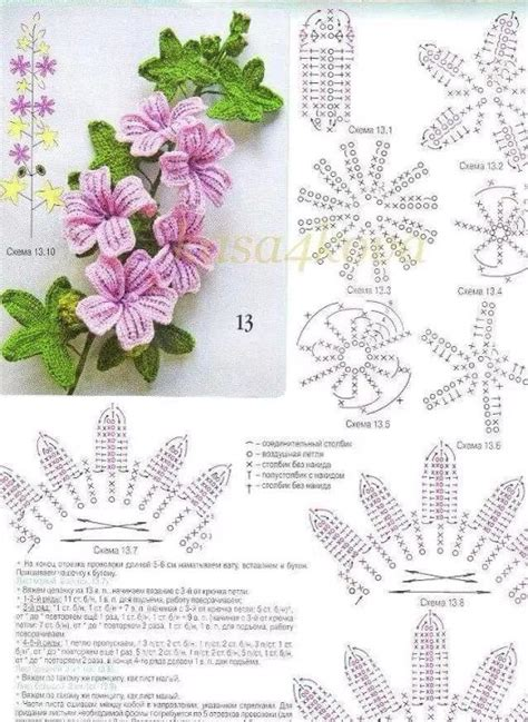 Kalung Diffuser 4 1000 images about fiori uncinetto crochet flower on