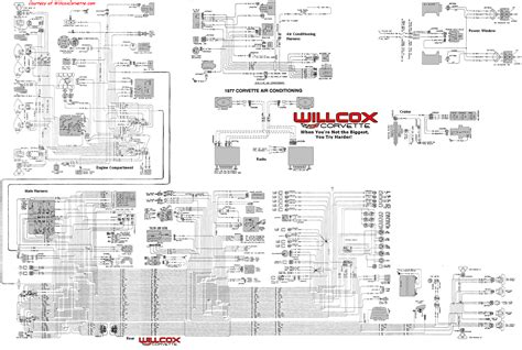 1977 corvette wiring diagram 1977 free engine image for