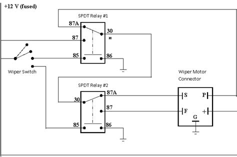 wiring diagram for wiper motor 30 wiring diagram images