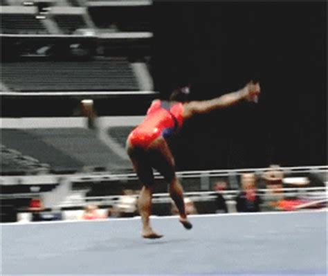layout half gymnastics wogymnastika simone biles doing two hs and a g rated