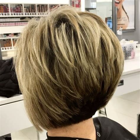 a line feathered bob hairstyles the full stack 30 hottest stacked haircuts