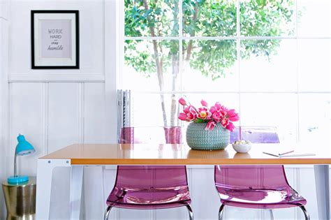 light pink desk chair photo page hgtv