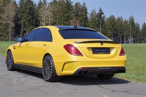 mansory mercedes mansory mercedes s63 amg in yellow and carbon fiber taxi