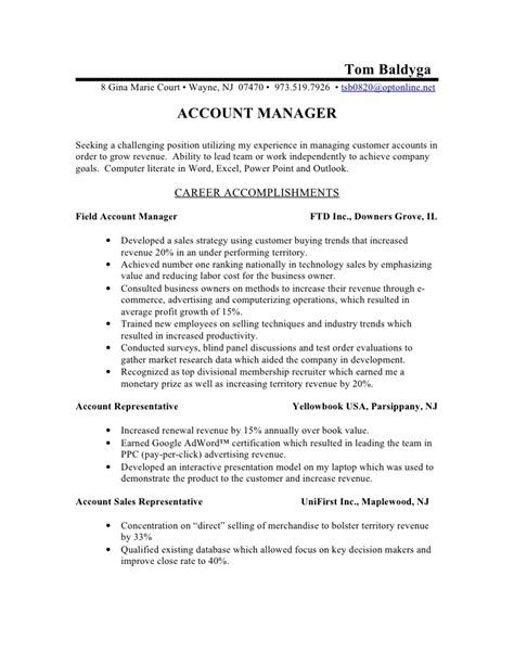 fmcg sales manager resume sle 28 images resume in fmcg