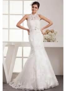Halter Neckline Mermaid Wedding Dresses 2013