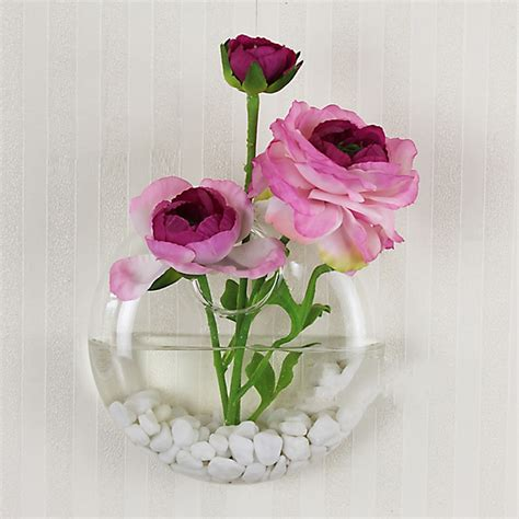 Wall Mounted Glass Flower Vases by New Selling Wall Mounted Glass Vase Flower