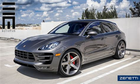porsche wheels zenetti wheels 2016 porsche macan s with brushed silver