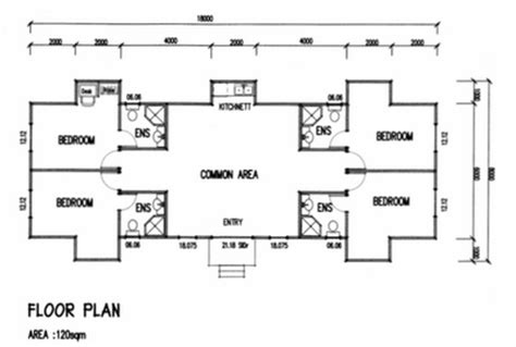 Bedroom Floor Plan With Ensuite Living Dexigns News Exle Floor Plans