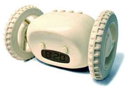 clocky the alarm clock that runs away and hides from you