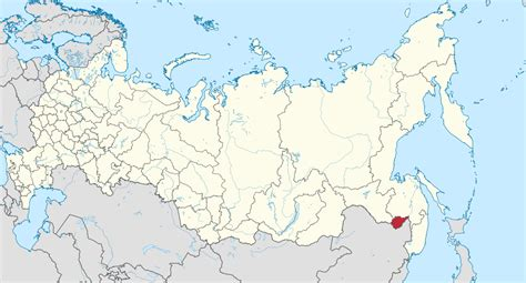 map of russia with cities names autonomous oblast