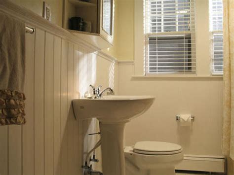 wainscot in bathroom home improvement bathrooms with wainscoting