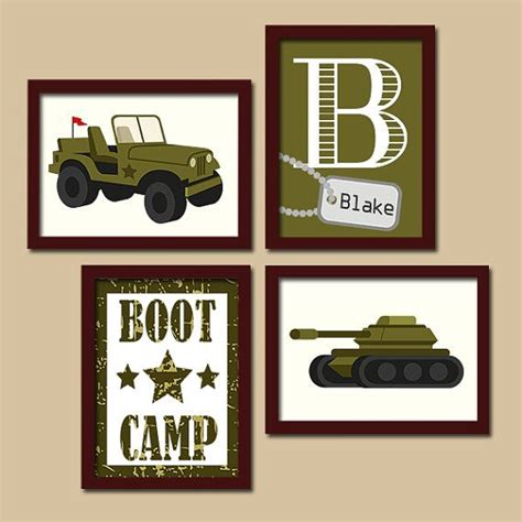 jeep painting canvas army wall art military boy bedroom pictures canvas or
