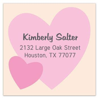 Wedding Wishes Labels by Wedding Wishes Square Address Labels Paperstyle