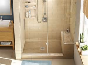 base n bench shower pan and bench models