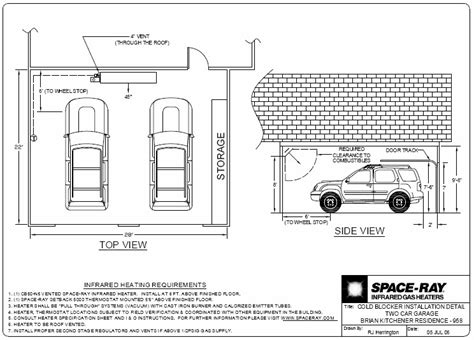 garage layout plans typical layouts