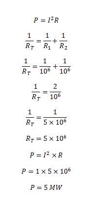 shunt resistor formula shunt resistance of cavity resonator d e notes