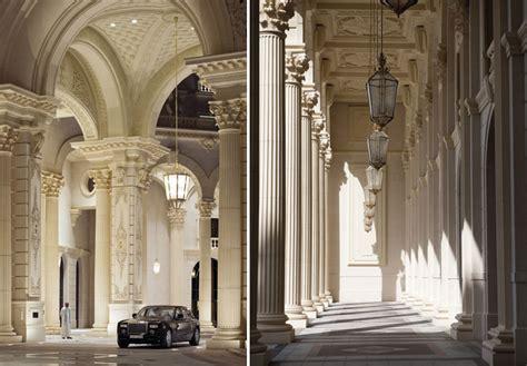 stately arabian architecture   ritz carlton riyadh