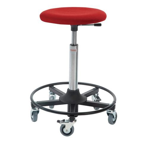 Working Stools by Industrial Work Stools Upholstered Seat Stools