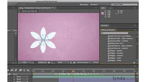 layout animation presets creating animation with presets