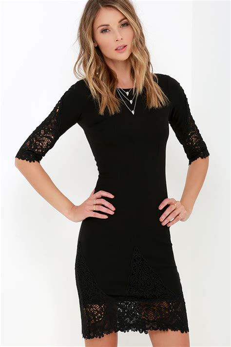 Style With The Myriad Of Dress Styles For Springsummer Whats A To Do Second City Style Fashion by Black Dress Lace Dress Midi Dress 45 00