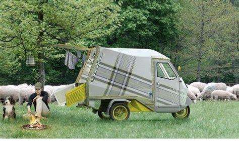Mobil Up Piaggio Ape Mini vespa mini caravan bufalino cer piaggio ape 50