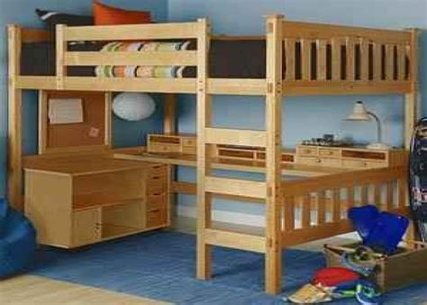 Diy Loft Bed With Desk Loft Bed Plans Loft Bed With Desk Plans The Faster Easier Way To Woodworking
