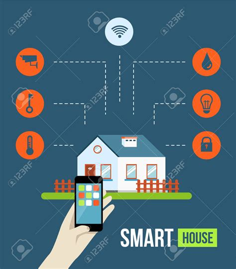 smart home technology lighting system clipart clipground