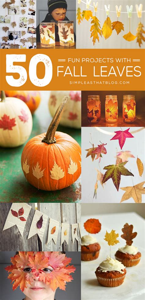 30 cool ways to use autumn leaves for fall home d 233 cor 50 fun projects to make with fall leaves