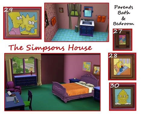 742 evergreen terrace floor plan mod the sims the simpsons house 742 evergreen terrace