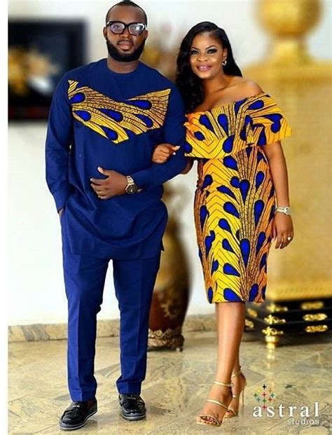 nice african bubu good look for a couple chitenge african design kanyget