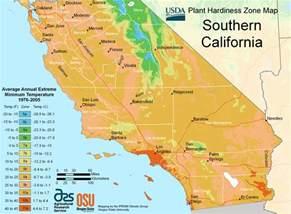 california zone map