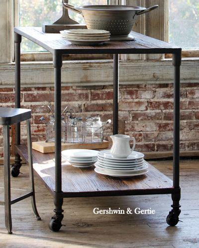 farmhouse kitchen island legs farmhouse kitchen island with metal legs and reclaimed elm top gershwin gertie
