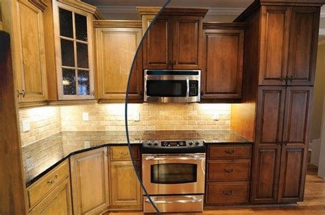 Staining Kitchen Cabinets by Oak Kitchen Cabinet Stain Colors Popular Kitchen Cabinet