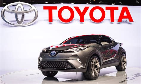 toyota motor toyota at the 2015 frankfurt motor all the