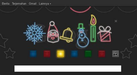 doodle tahun baru 2016 doodle meriahkan natal tahun baru okezone techno