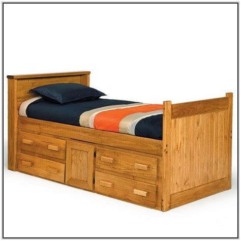 oak captains bed solid oak captains bed twin beds and bed frames