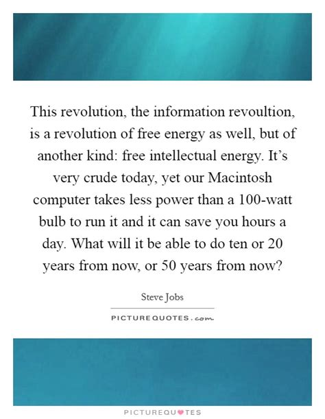 Is It Really An Information Revolution by This Revolution The Information Revoultion Is A
