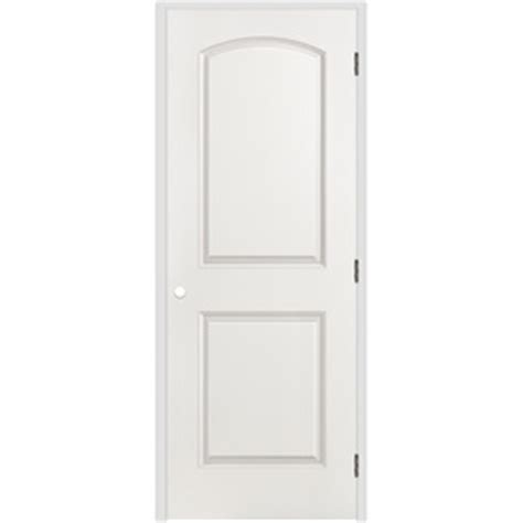 26 Prehung Interior Door Shop Reliabilt 2 Panel Top Hollow Smooth Molded Composite Left Interior Single