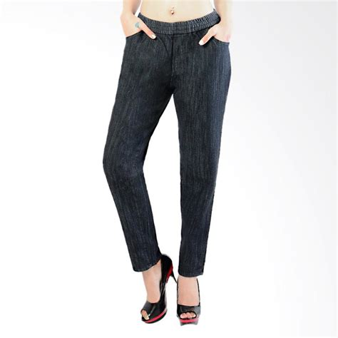 Celana Wanita Jumbo Skyny Wanita jual dline jegging jumbo garment celana wanita black harga kualitas terjamin