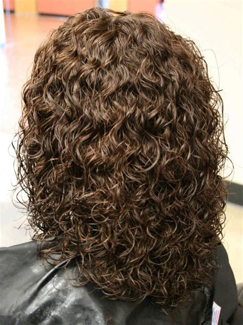 layered permed hair styles perms for medium length hair spiral perm hairstyles on