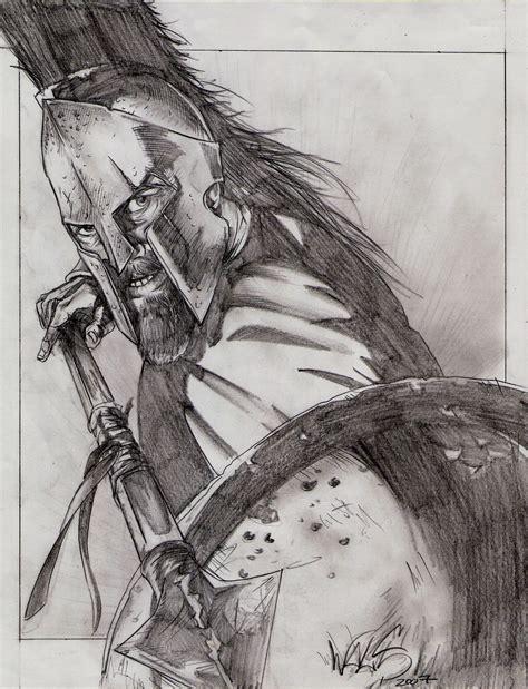 king leonidas spartan 300 300 spartans drawings www pixshark images