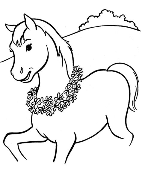 www coloring pages of horses free printable coloring pages for
